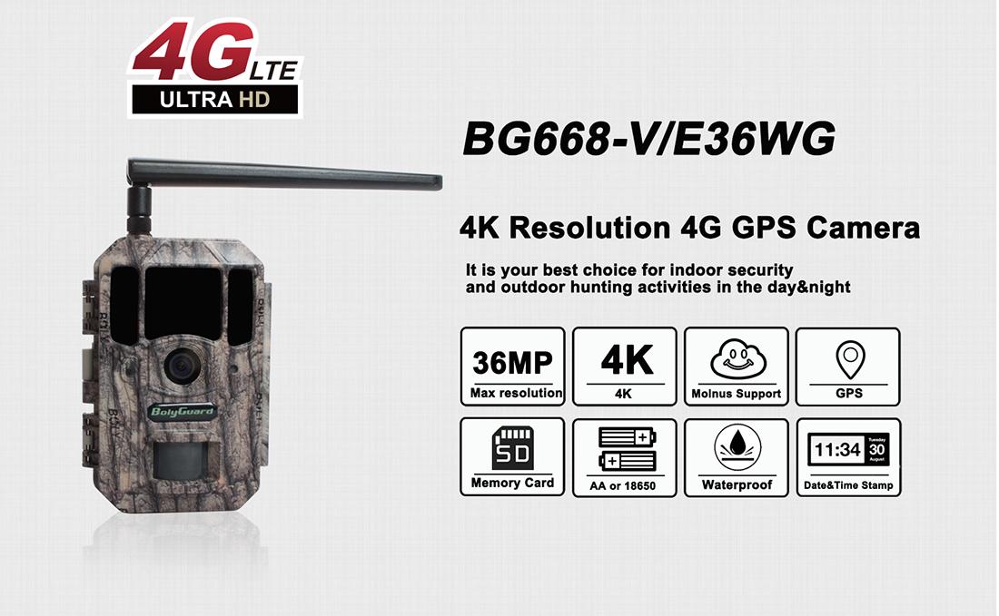 BolyGuard BG668-E36WG 4G Trail Camera 1