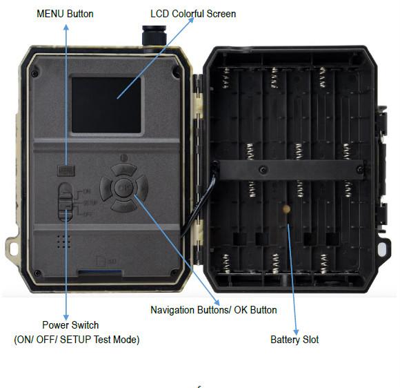 Willfine 4.0CG 4G Trail Camera Wireless Game Camera 4