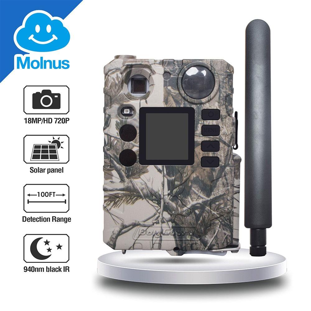 BolyGuard BG310-M 4G Trail Camera 18MP HD Video Wireless Game Camera with Cloud Service 1