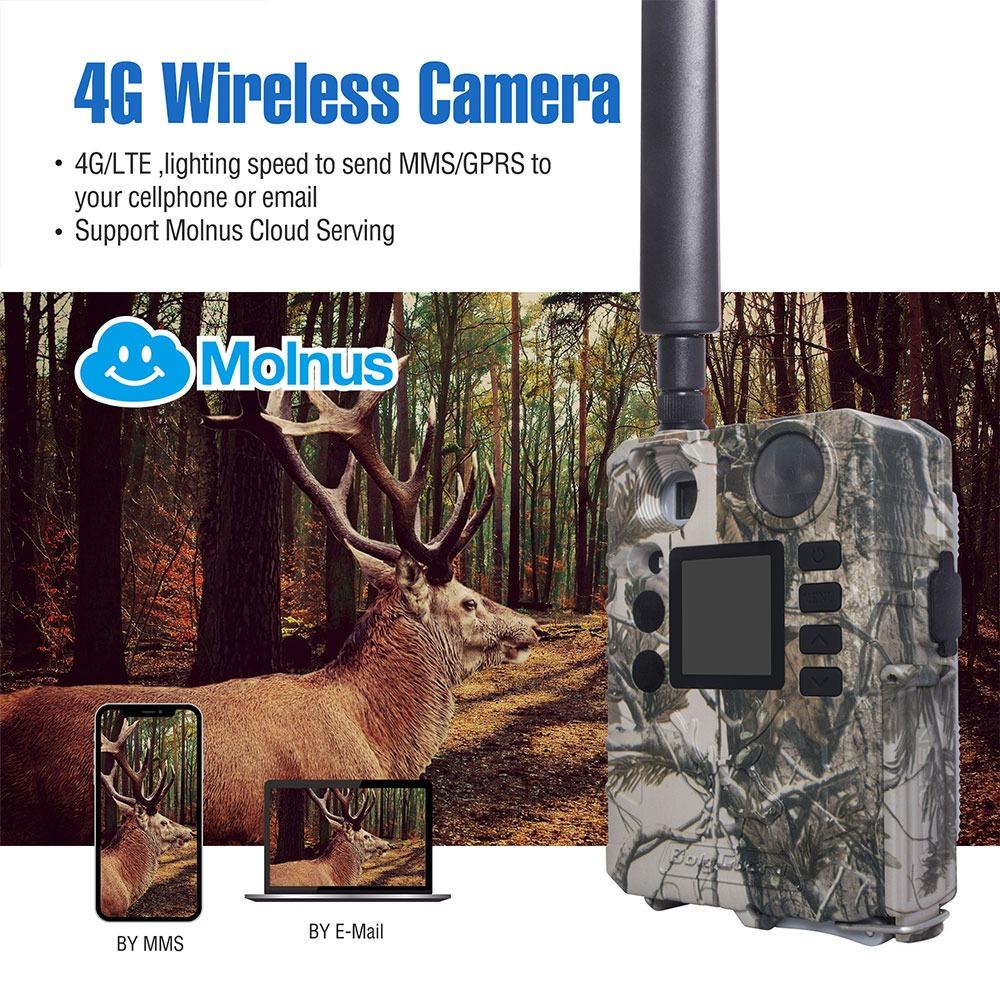 BolyGuard BG310-M 4G Trail Camera 18MP HD Video Wireless Game Camera with Cloud Service 3